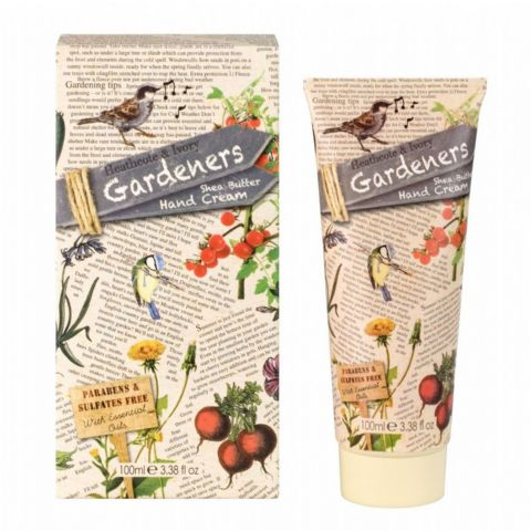 Shea Butter Hand Cream - Gardeners Collection 100ml Heathcote & Ivory